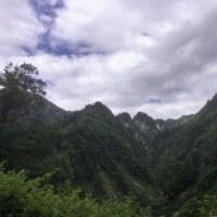 白山スーパー林道と五箇山