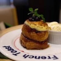 海老名SAで「LONCAFE」のフレンチトースト!