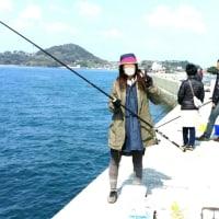 久し振りに近場の堤防で釣り