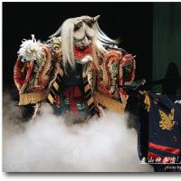亀山神楽団「土蜘蛛」②