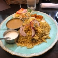 お気に入りのインド料理やさんでランチ