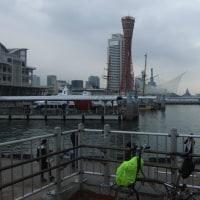 悪天候の中、第2回ブロンプトンミーティング神戸に参加しました・・・