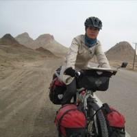 講演「シルクロード 自転車オンナ一人旅」