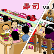 寿司 VS 鮨