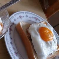🐵 納豆トーストランチ
