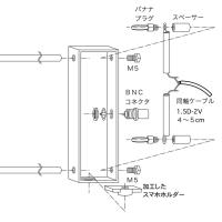 430MHzスカイドアアンテナ(改良版)