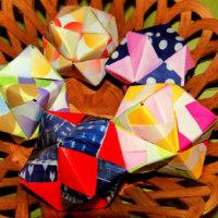 折紙「くす玉」②