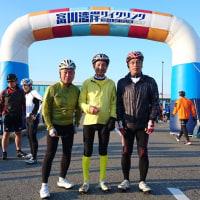会員3名がサイクリング大会に参加    石川・福井県支部