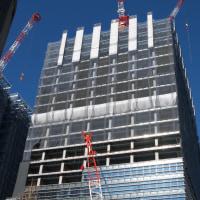 大手町二丁目地区再開発事業 B棟の進捗状況 2017年1月12日