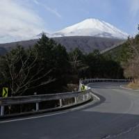冬の富士山を堪能( ^)o(^ )