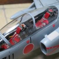"""1/48 """"川崎・T-4練習機""""完成"""