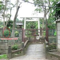 017台東区上野公園・聖天島(稲荷神社)の庚申塔(最寄り:上野駅、京成上野駅他)
