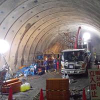 トンネル先進ボーリング