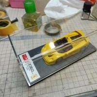 メイクアップアイドロン Ferrari F50 ウインドウ修理