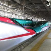新幹線が到着☆