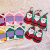 今週の出店に『手作りクリスマスカード』