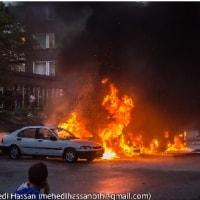 ストックホルム郊外で暴動、移民が多数の地区