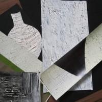 クラッキング台紙(押し花)