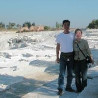 「エジプト・トルコ旅行記」 №63 ヒエラポリス石灰棚(Ⅱ)