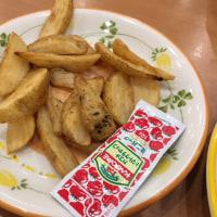 昭島・サイゼリア 昭島モリタウン店 パンチェッタとサラミのピザ