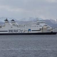 """津軽海峡航路で""""新旧交代""""...津軽海峡フェリー"""