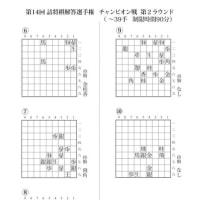 第14回詰将棋解答選手権 チャンピオン戦 第2ラウンド出題作品