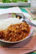 鶏ムネ肉のヨーグルトカレー