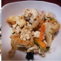作り置きおかず、炒り豆腐!