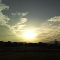 晴れ曇りの神戸です。