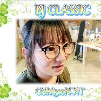 女性が掛けるとこのカラーはやっぱり綺麗!BJクラシック COM510N-NT