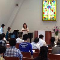 9月29日 聖日礼拝