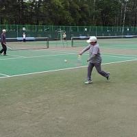 20170628記録(kata54)、朝テニス(北見シグマテニスクラブ)