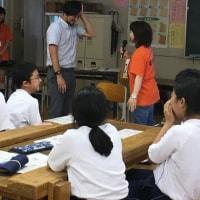北名古屋市立白木中学校 福祉実践教室