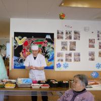 めぐみ園広の寿司パーティー
