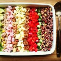 10品目のチョップドサラダ