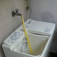 アクアの洗濯機を納品