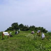2017/06/24(土) 城ヶ平山の旧集落の話