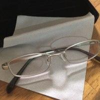次男のメガネ
