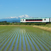 庄内平野の鉄道①