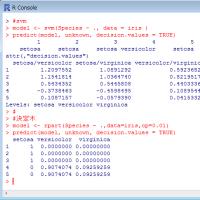 Rで行う決定木とSVMの予測比較