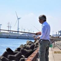 鹿島港で釣ってみる