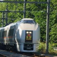2017年5月23日 高崎線 北本 651系OM205編成 草津 2号 3002M