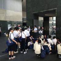 京都校外学習   集合完了