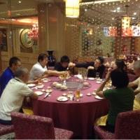 カンボジアカジノホテル夕食