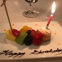 誕生日DINNER  🎂