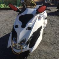 牛さん仕様のビックスクーター
