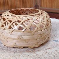 町家ショップらりぃ2015ワークショップ「六つ目編みの小さな竹籠作り」のご案内