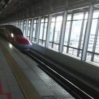 新幹線にて☆