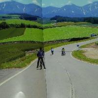 北海道でサイクリング
