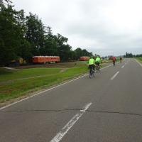十勝中札内グルメフォンド コース試走(50km+30km)